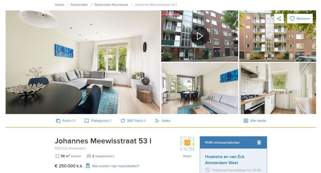 Johannes Meewisstraat 53 I Amsterdam