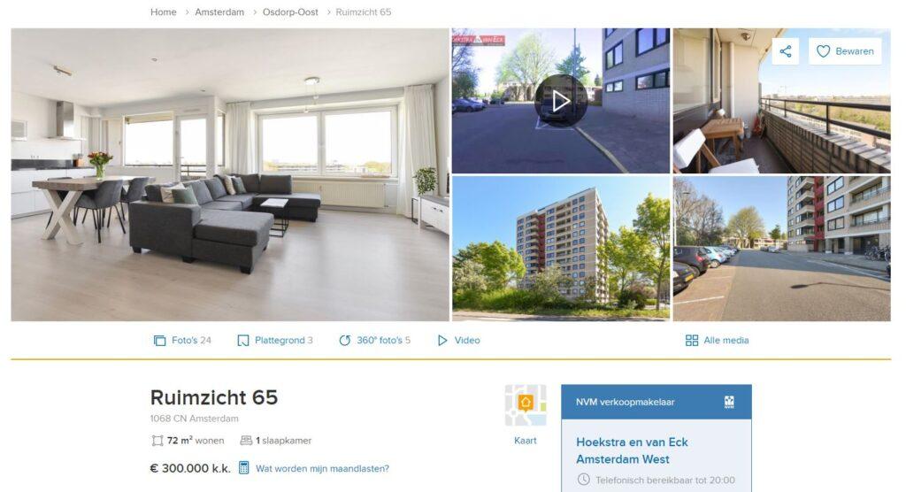 Ruimzicht 65 Amsterdam