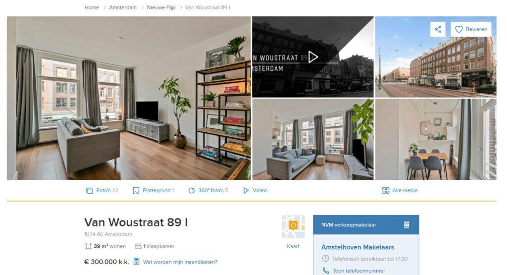 Van Woustraat 89 I Amsterdam