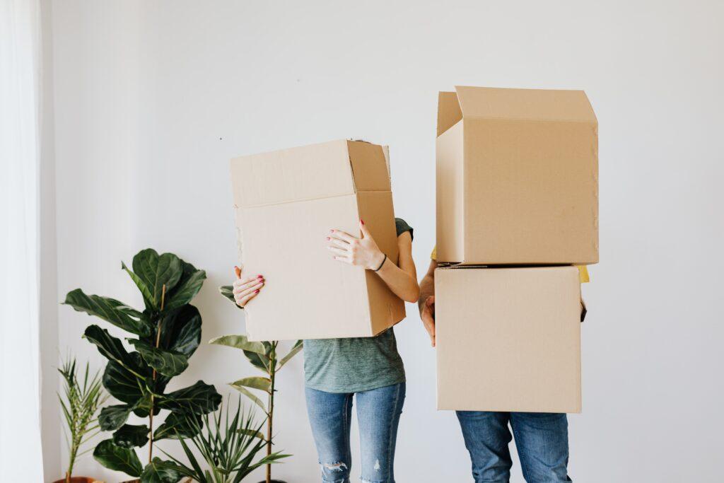 tijd om te verhuizen